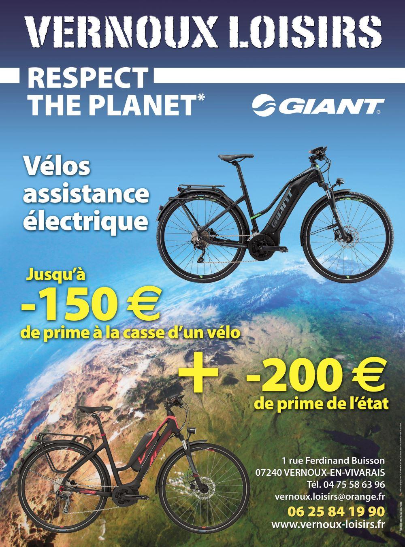 promo vélo électrique giant